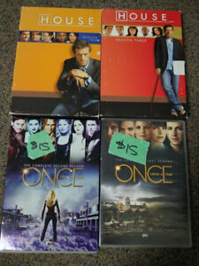 Many used TV dvd boxsets. Best offer per