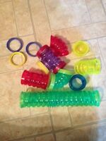Hamster cage tubes