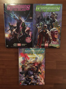 Guardians of the Galaxy by Michael Bendis - Vol. 1 2 3 (anglais)