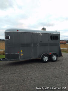 Bumper pull 2 horse trailer kijiji in ontario buy sell super clean 2 horse trailer with changeroom sciox Image collections