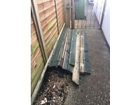 Wooden fence panels FREE