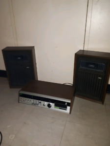 (Vintage 1970's) Vagabond Stereo Receiver and Speakers