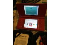 Nintendo DSi, case with accessories & games