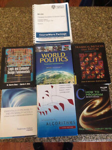 University of Windsor Computer Science + Other Textbooks