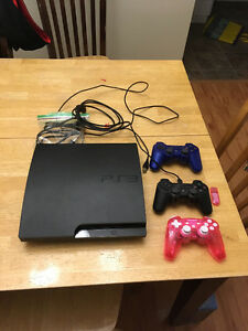 Play station 3 plus 7 games