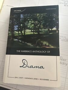 Harbrace Anthology of Drama