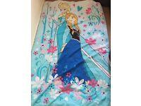 Frozen single duvet cover and pillow case