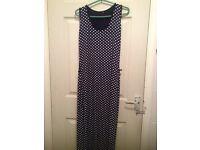 Polka dot summer dress sizes S/M