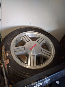 Like new all season tires with rims