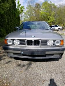 BMW E34 535i Jamais roulé l'hiver