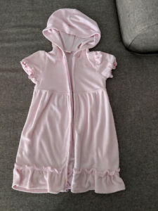 Pink size 5T pink swim wear cover up