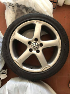 VW 17inch rims - NEGOTIABLE