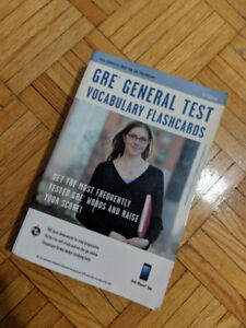 GRE General Test Vocabulary flash cards