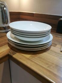 8pc dinner set
