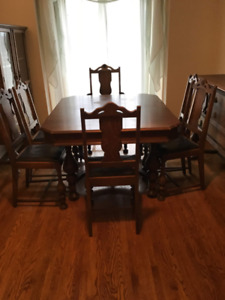 Antique (1930s) Dining Suite