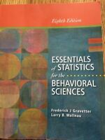 Essentials of Statistics Behavioral Sciences 8th
