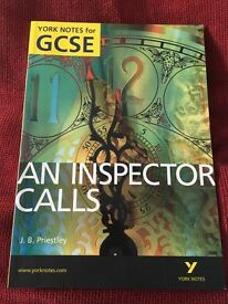 An Inspector Calls GCSE revision note book!