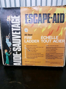 Ladder for fore escape, window ladder, fire escape echelle steel