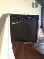 Powerful amp for a cheap price! Great for buskers, jammin fools.