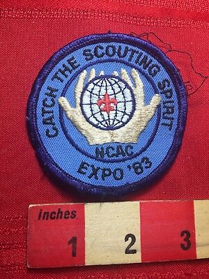 Vtg 1983 Scouting Spirit National Capital Area Council Boy Scout Patch 77I2