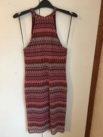 Patterned bodycon dreas