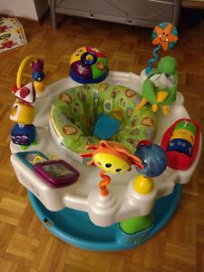 Baby Einstein Activity Center/Saucer + Another Saucer