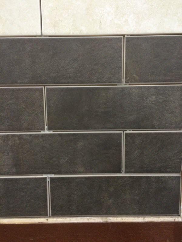 Basalt Dark Grey Wall Tiles Bathroom And Kitchen In Nottingham
