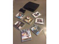 PS3 , PlayStation 3 slim & 8 games