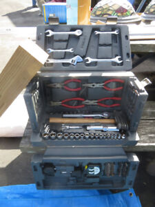 Tool Box with a Variety of Tools