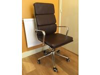 Charles Eames leather office chair (2 available)