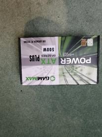Gamemax 500w ATX power supply