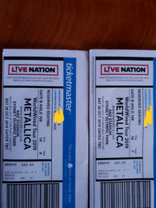 metallica tickets in Melbourne Region, VIC | Concerts