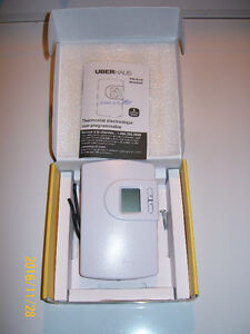THERMOSTAT  ÈLECTRONIC  UBERHAUS  TH616  $12.00