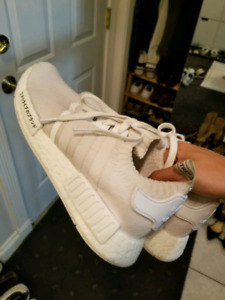 TRIPLE WHITE JAPAN PACK NMDS SIZE 9