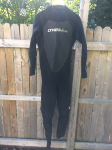 Men's O'neil wetsuit and accessories