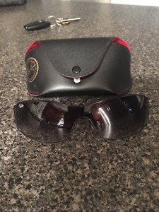 Authentic designer sunglasses with case