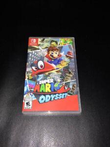 NEUF EMBALLÉ Super Mario Odyssey Nintendo Switch