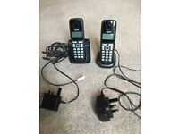 GIGASET A220A DUO TELEPHONES