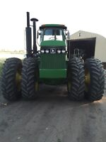 JOHN DEERE # 8450 4WD P.T.O. SECOND OWNER