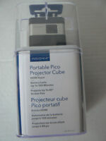 Portable cube Projector Pico Projector pocket size like new