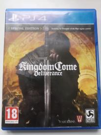 Kingdom Come: Deliverance (PS4 Game)