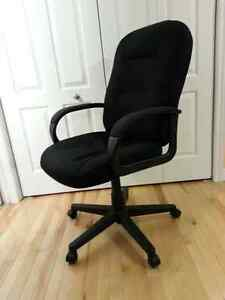 Comfortable Swivel/Reclining Office/Gaming Chair - Black