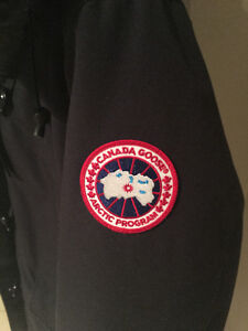 Women's Canada Goose Rideau Jacket- Navy London Ontario image 2