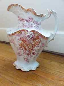Matching Vintage Pitcher and Washing Bowl by Dunn Bennett & Co. Kitchener / Waterloo Kitchener Area image 5