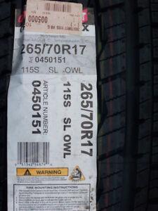 New General Grabber Tire (1 tire-265/70R17)