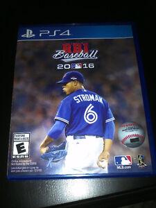 PS4 RBI Baseball 2016