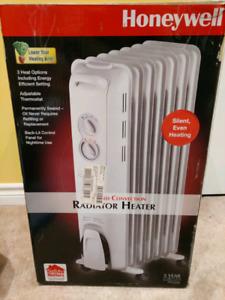 Honeywell 3 heat option Radiator Heater
