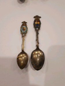 Vintage Sussex Sterling Silver Collectors Spoons
