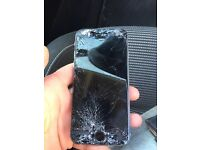 iPhone 6s 64gb smashed screen