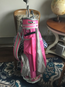Ladies' and Men's Golf Clubs and Bags